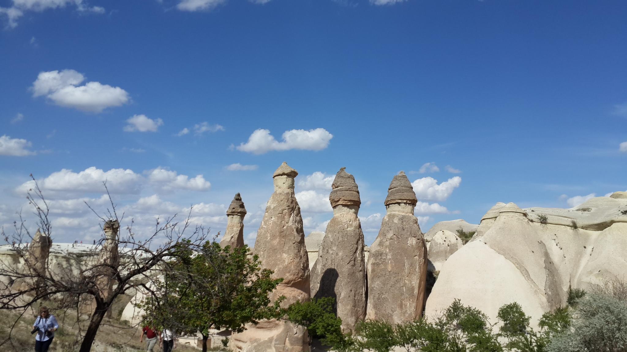 Cappadocia formations
