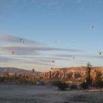 Balloning over Cappadocia